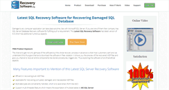 Preview of latest.sqlrecoverysoftware.org