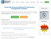 Tablet Preview of latest.sqlrecoverysoftware.org